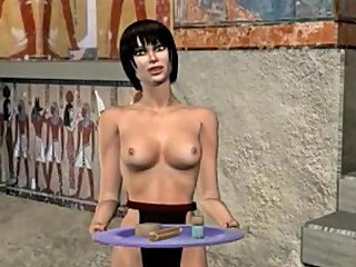 H2PORN @ Bisexual Pharaoh Fucks Soldier And Female Slave 3d Mmf Gay Cartoon Anime
