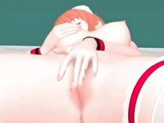 VIPTUBE @ Nice Anime Pussy Hardly Banged And Tenderly Masturbated