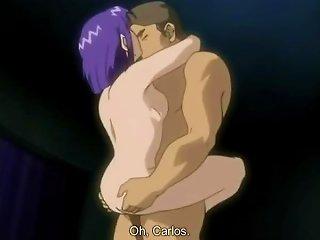 ALPHAPORNO @ Sexy With Lusty Purple Haired Hentai Slut